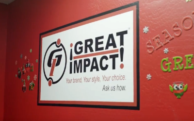 Great Impact store signage